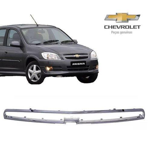 Friso Cromado da Grade Original Chevrolet Prisma 2012