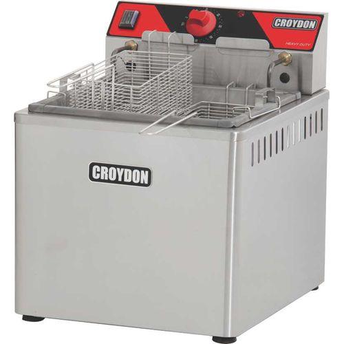 Fritadeira 15L de Mesa 5000w FZM5 Croydon Fritador 15L 2 Cestos 220v