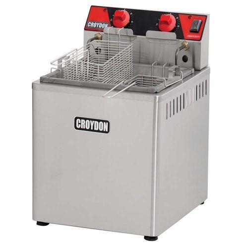 Fritadeira 15L de Mesa 8000w FZM8 Croydon Fritador 2 Cestos 8000w 220v