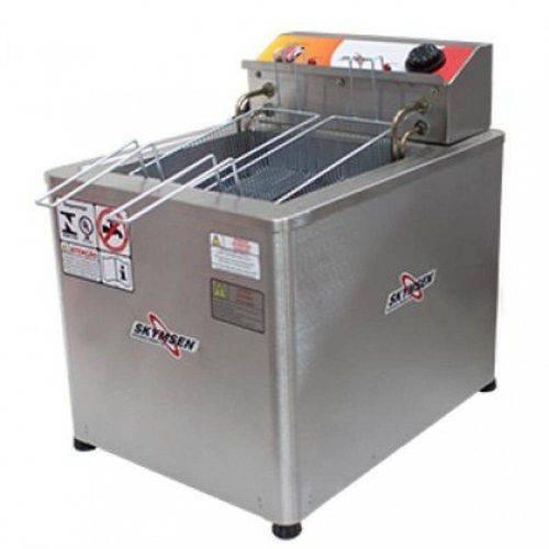 Fritadeira Elétrica Água e Óleo Inox de Mesa Frm-18