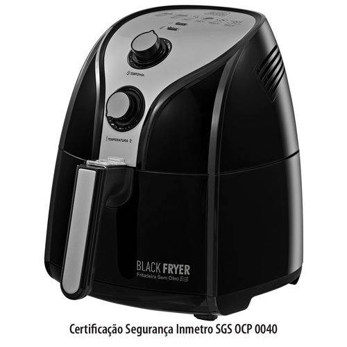 Fritadeira Elétrica Black Fryer Preta - Black & Decker