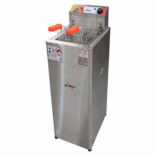 Fritadeira FRP18 8000w Água e Óleo Skymsen Fritadeira 8000w Inox 220v
