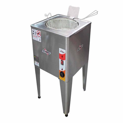 Fritadeira FRP24 8000w Água e Óleo Skymsen Fritadeira 24 Litros 8000w Inox 220v