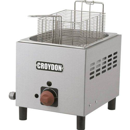 Fritadeira Industrial à Gás 4,5 Litros com Alça F1bg - Croydon