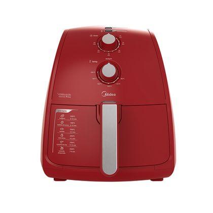 Fritadeira Sem Óleo Midea Liva 4L Vermelha 127v - FRV41