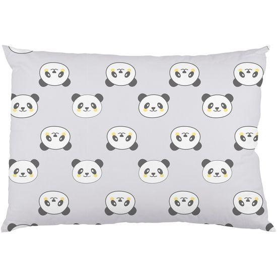 Fronha de Malha Estampada - Panda