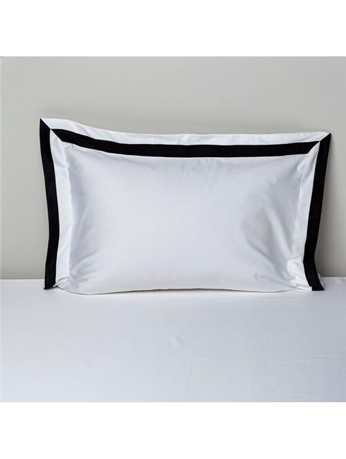 Fronha Foster - Branco-preto - 50x70