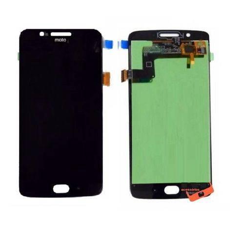 Frontal Motorola Moto G5 Xt1672 Xt1670 Cor: Preto