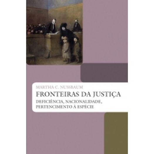 Fronteiras da Justica - Wmf Martins Fontes