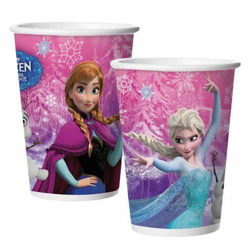 Frozen Copo Papel C/8 - Regina