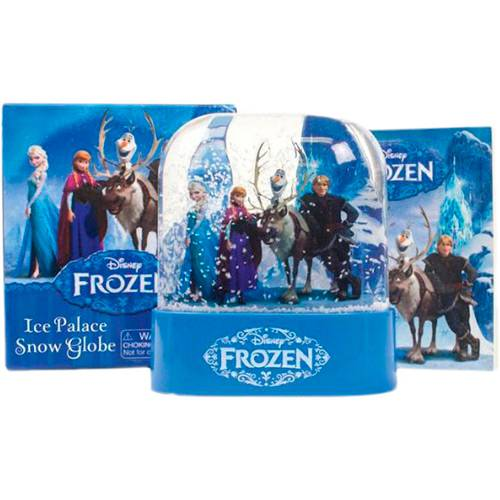 Frozen: Ice Palace Snow Globe 1ª Ed