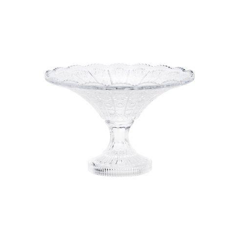 Fruteira de Cristal com Pé 30cm