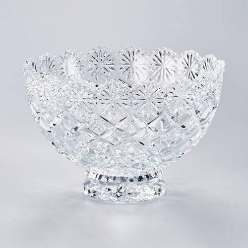 Fruteira de Cristal Diamond Lyor Classic