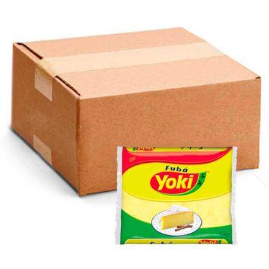 Fubá Mimoso Yoki 1kg Fd. C/ 12 Un.