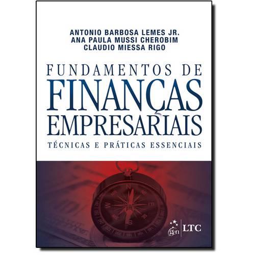 Fundamentos de Finanças Empresariais: Técnicas e Práticas Essenciais