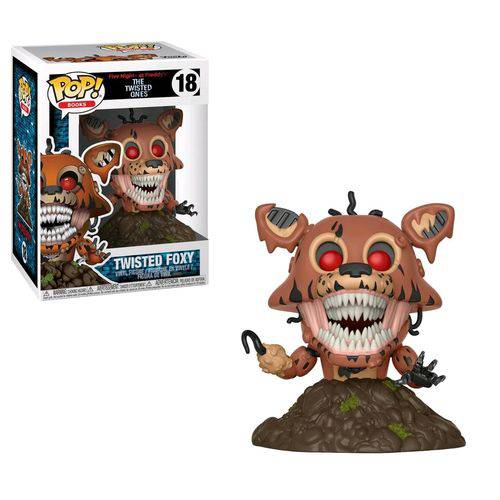 Funko Pop Books: Five Nights At Freddy's-Twisted Foxy#18