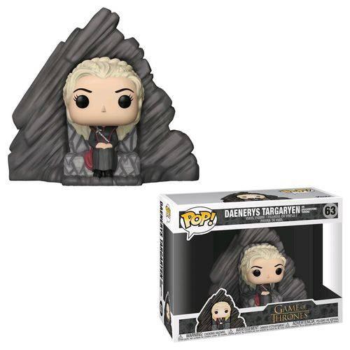 Funko Pop Game Of Thrones:Daenerys Targaryen Dragonstone#63