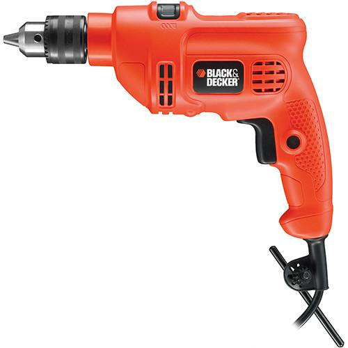 "Furadeira Black&Decker Imp.3/8"" Tm500"