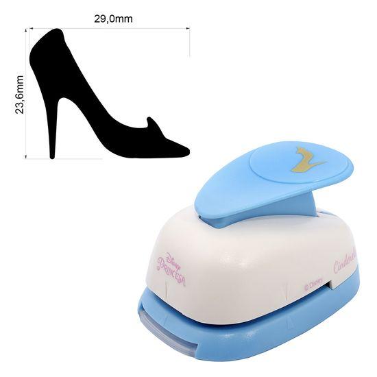 Furador de Papel e EVA Toke e Crie Gigante Disney FGAD06 Sapato Cinderela