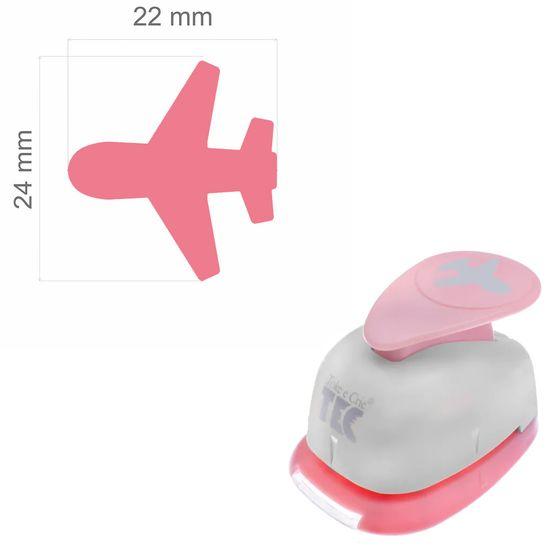 Furador de Papel Toke e Crie Jumbo FJA108 Avião