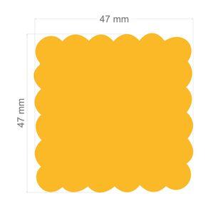 Furador Gigante Plus Escalope Quadrado Ref.9868-FGPA101 Toke e Crie