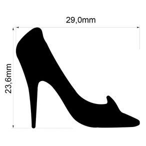 Furador Gigante Premium (E.V.A) Sapato da Cinderela Ref.20584-FEGAD06 Toke e Crie