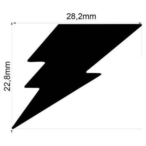 Furador Gigante Premium Relâmpago 2,82 Cm FGAD09