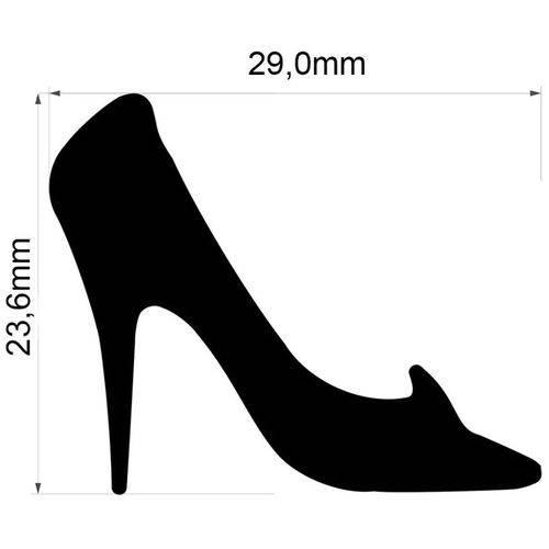 Furador Gigante Premium Sapato Cinderela 2,9cm FEGAD06