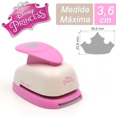 Furador Gigante Premium Toke e Crie - Coroa Princesas