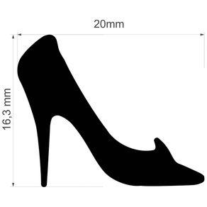 Furador Jumbo Premium (E.V.A) Sapato da Cinderela Ref.20579-FEGAD05 Toke e Crie