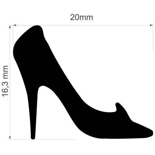 Furador Jumbo Premium Sapato Cinderela 2 Cm FJAD05