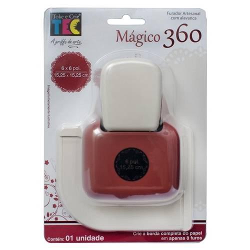 Furador Mágico 360 Flores F36002 - Toke e Crie