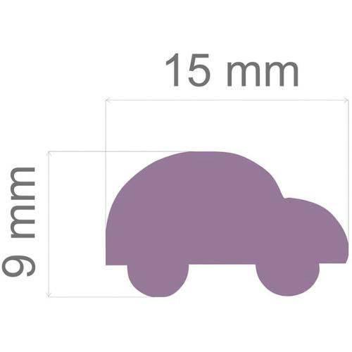 Furador Papel e Eva Regular Carro C/alavanca 16mm Toke e Crie