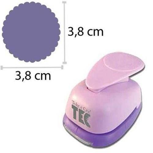 Furador para Papel Gigante Circulo Escalope 35mm Toke e Crie