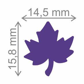 Furador Premium Regular (E.V.A) Folha de Uva Ref.FRA005-5793 Toke e Crie