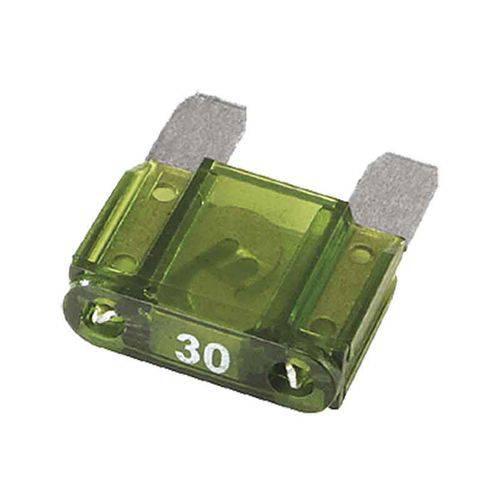 Fusível de Lamina Maxi Automotivo 30 Amperes - Pacote com 5 Peças