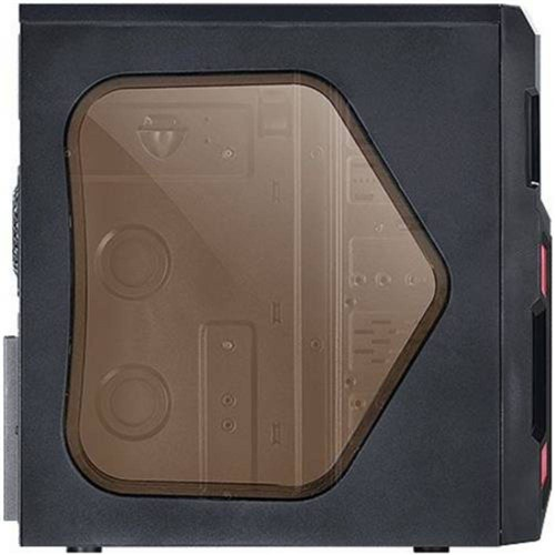 Gabinete Micro ATX e ATX Vermelho VX Typhoon Vinik