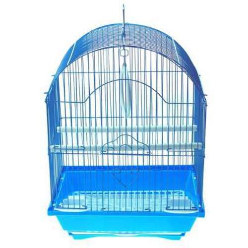 Gaiola para Pássaros Modelo 01 Oval - Azul