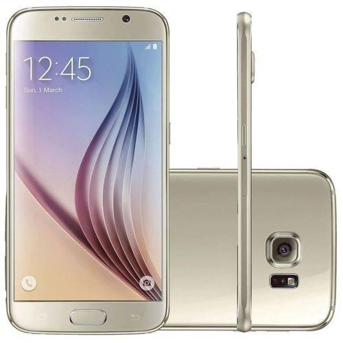 Galaxy S6 Samsung 32GB Dourado Seminovo