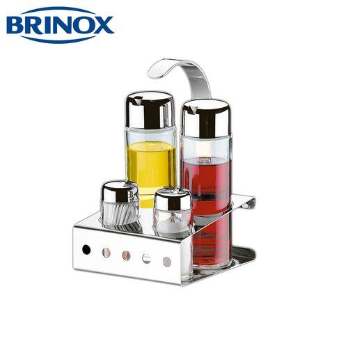 Galheteiro Parma Inox 5 Pçs - Brinox