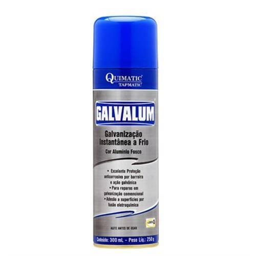 Galvalum Galvanização Aluminio Spray 300 Ml Quimatic