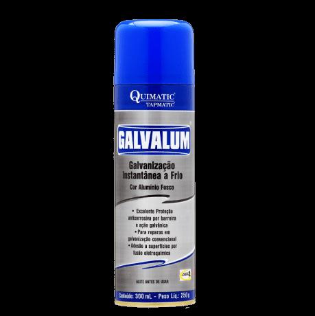 Galvalum Galvanizador à Frio Spray 300ml - Tapmatic