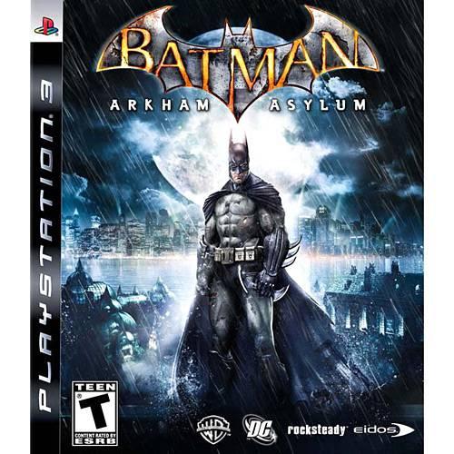 Game Batman Arkham Asylum - PS3