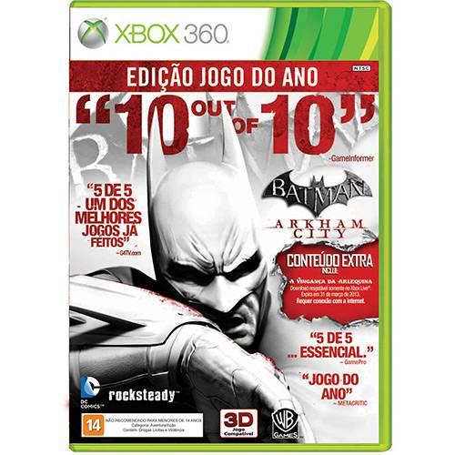 Game Batman: Arkham City - XBOX 360