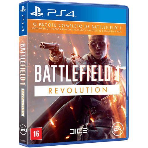 Game Battlefield 1 Revolutions para PS4