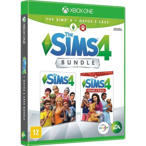 Game Bundle - The Sims 4 Cães e Gatos - XBOX ONE