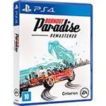 Game Burnout Paradise - PS4