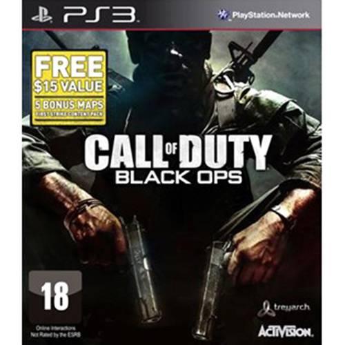 Game Call Of Duty: Black Ops - PS3 - Edição Limitada