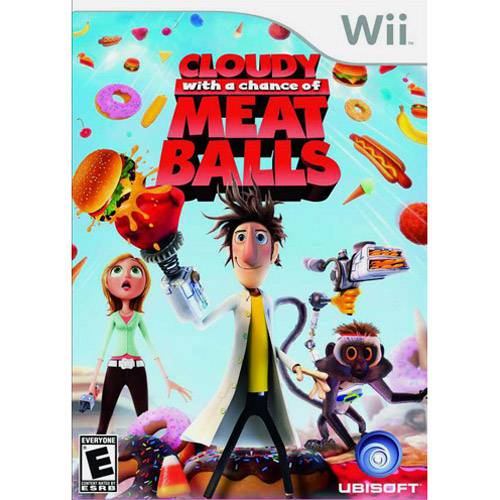 Game Cloudy With a Chance Of Meatballs - Wii