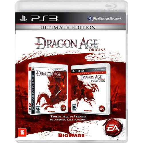 Game - Dragon Age Origins: Ultimate Edition - PS3